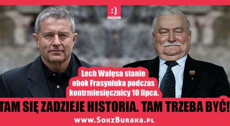 """""""Tam się zadzieje historia. Tam trzeba być"""" - autorzy strony SokzBuraka.pl zachęcają, by 10 lipca zjawić się na kontrmiesięcznicy"""