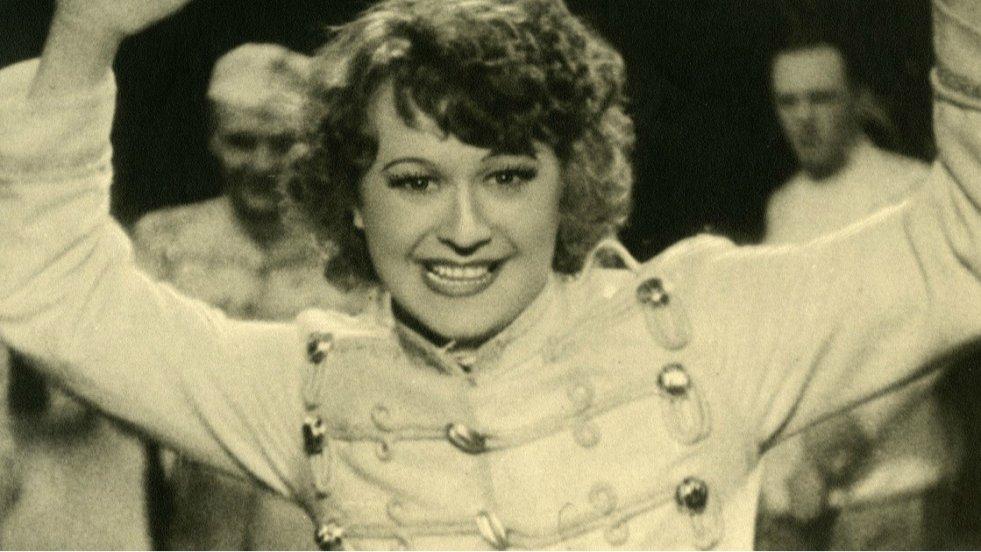 """""""Manewry miłosne"""" z 1935 roku. Loda Halama ma 24 lata."""