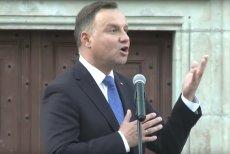 Prezydent Andrzej Duda w przemówieniu do mieszkańców Lwówka Śląskiego dowodził, że Trybunał Konstytucyjny przed laty... naruszył konstytucję.