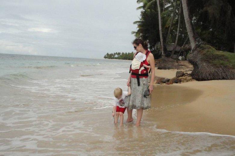 Ola, Maciek i Kalina na Dominikanie