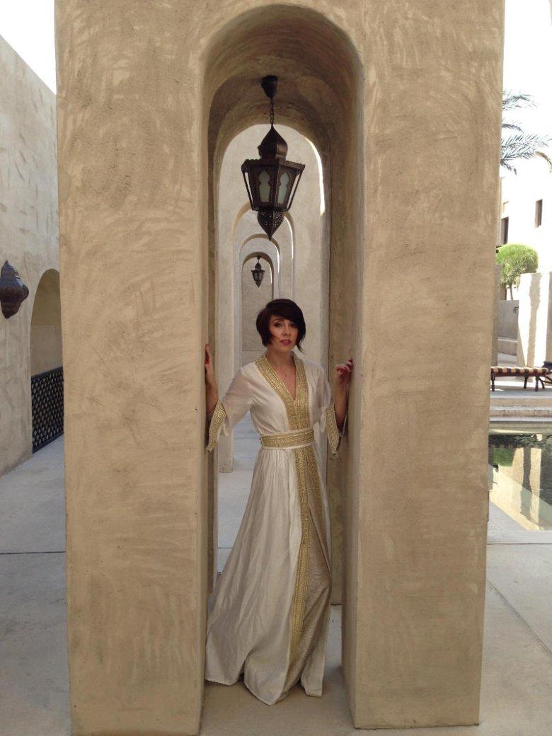 Emiratki lubią przepych. Przy każdej okazji, w której mogą zdjąć nikab, wyglądają jak księżniczki.