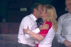 Macron i Kolinda Grabar-Kitarović wzbudzili duże zainteresowanie na finale mundialu.
