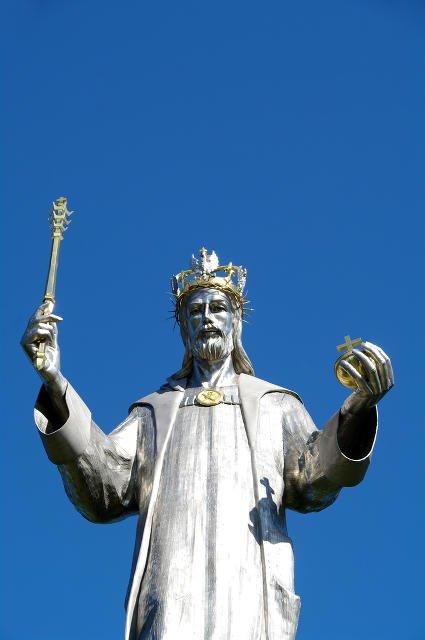 Monumentalna rzeźba Jezusa Chrystusa