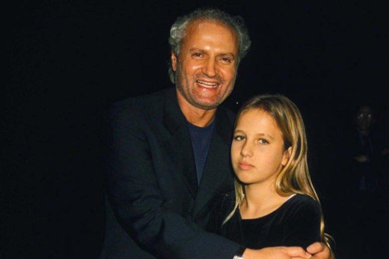 Allegra z wujkiem Giannim