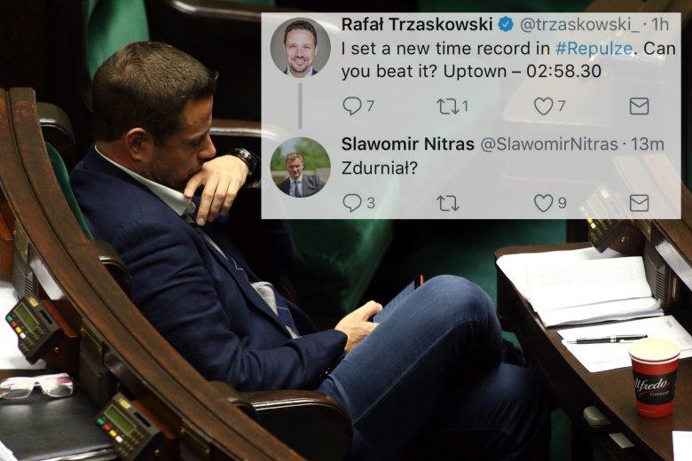 Wpis Rafała Trzaskowskiego, kandydata PO na prezydenta PO, wywołał burzę na Twitterze