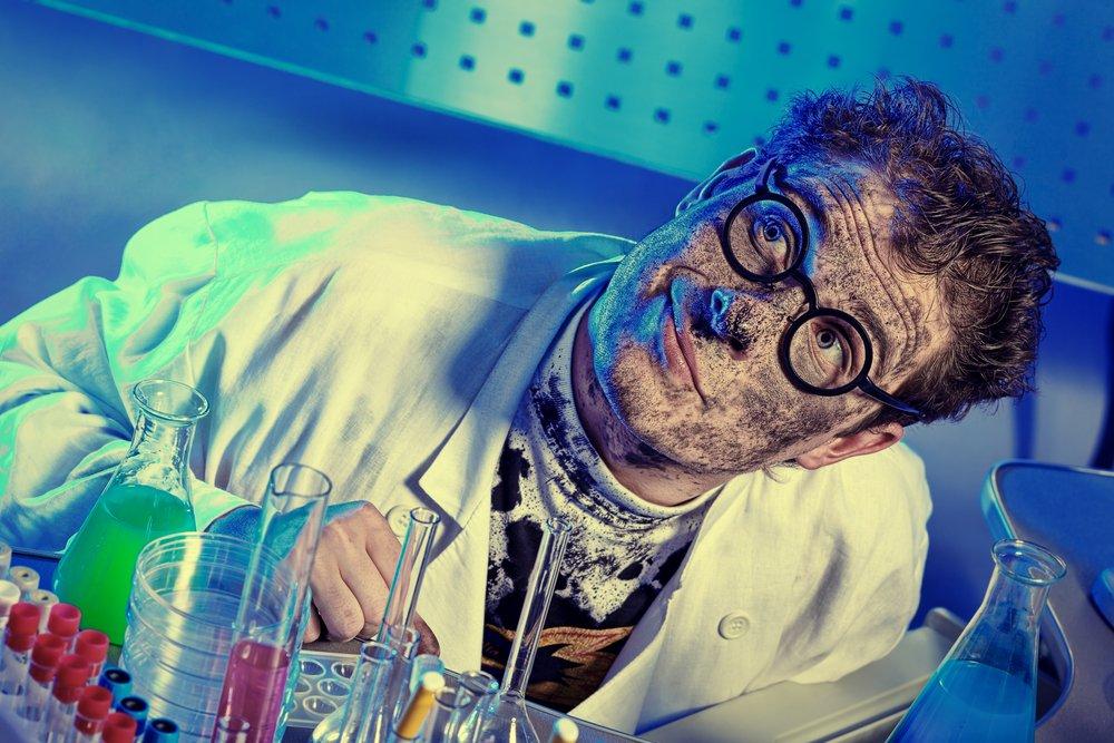 Научные прикольные картинки, открытки