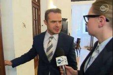 """Sławomir Nowak mówi, że """"nie czuje presji"""" by oddawać mandat."""