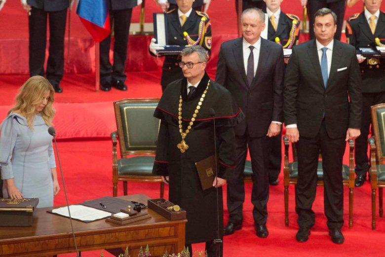 Świeżo zaprzysiężona prezydent Słowacji Zuzana Čaputová powiedziała wzruszające słowa.