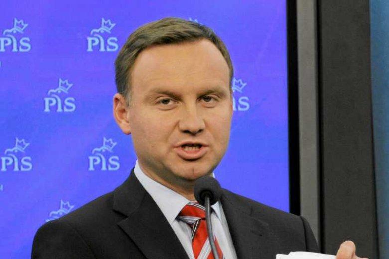 Poseł PiS Andrzej Duda