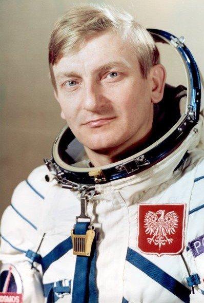 Mirosław Hermaszewski, pierwszy i jedyny jak do tej pory polski kosmonauta.