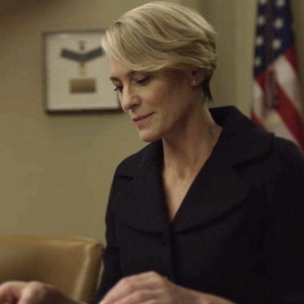 Robin Wright w roli pierwszej damy Claire Underwood