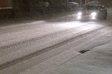 Śnieżyca w północnej Hiszpanii.