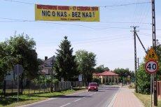Ponad 80 procent mieszkańców gminy Baranów opowiedziało się przeciwko  budowie lotniska. Ale frekwencją nie ma się co chwalić.