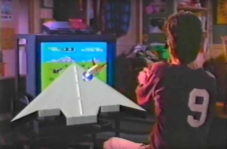Reklama SegaScope 3D. Technologia wymyślona trzy dekady temu teraz dopiero wchodzi pod strzechy.
