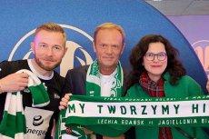 Donaldowi Tuskowi w Warszawie towarzyszyła m. in. prezydentka Gdańska Aleksandra Dulkiewicz.