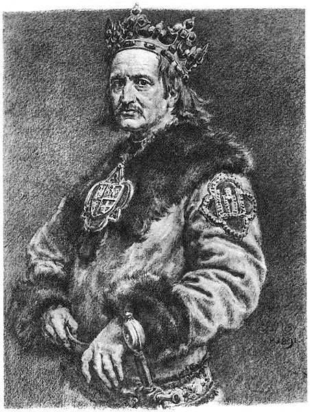 Król Władysław Jagiełło, poczet Jana Matejki.