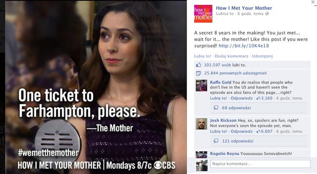 """Kim jest żona Teda z serialu """"Jak poznałem Waszą matkę""""? To pytanie zadawały sobie miliony fanów na całym świecie."""