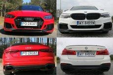 Audi RS5 i BMW M550i to dwa wyjątkowe sportowe samochody.