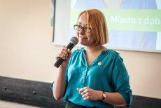 Małgorzata Tracz, przewodnicząca Zielonych, wystartuje z listy Koalicji Obywatelskiej.