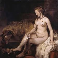 Batszeba z listem od Dawida. 1655