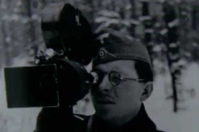Willy Wist – szef ekipy filmowej, która w maju 1942 roku przyjechała do okupowanej Warszawy.