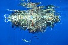 Fragment Wielkiej Pacyficznej Plamy Śmieci. Ilość plastiku w oceanach jest 10 razy większa, niż zakładano