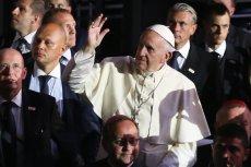 Papież Franciszek podczas Światowych Dni Młodzieży w Krakowie