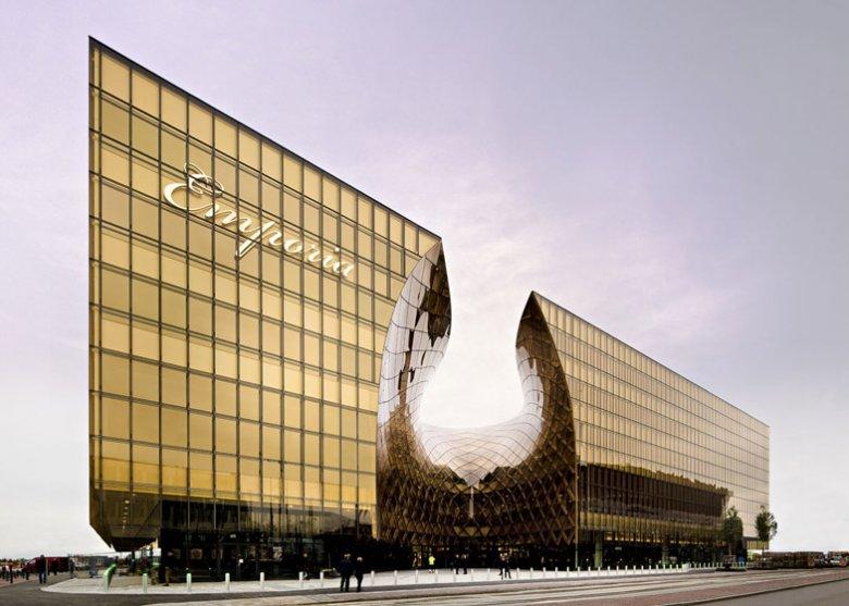 Za projekt centrum handlowego Emporia odpowiada studio architektoniczne Wingårdhs - www.wingardhs.se
