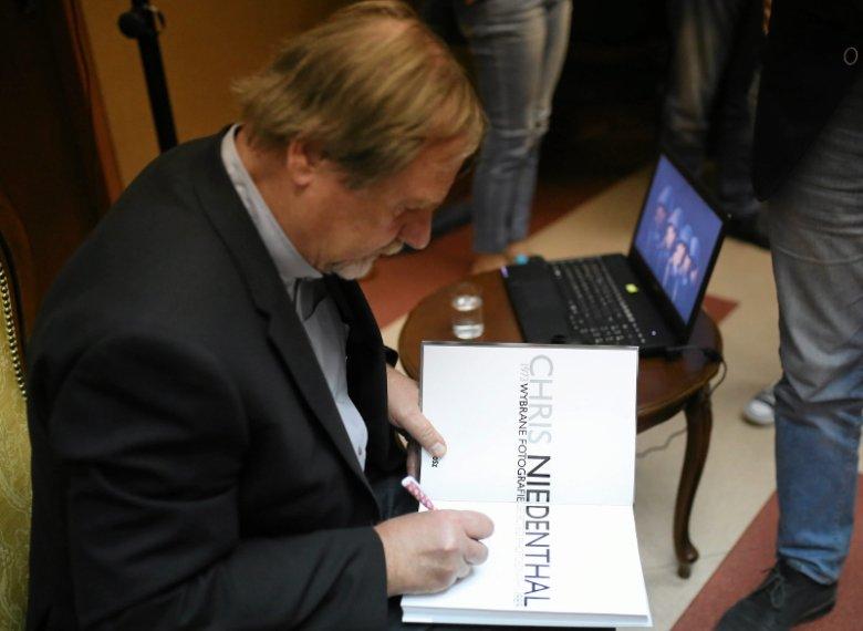 Fotoreporter Chris Niedenthal podczas spotkania w ramach miejskiej akcji Aleje - tu się dzieje.