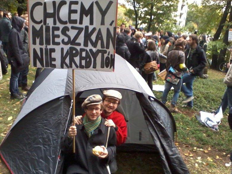 Marsz Oburzonych, Warszawa
