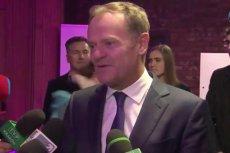 """Donald Tusk, szef Rady Europejskiej był gościem honorowym tegorocznego """"Wieczoru kolęd"""" Stowarzyszenia Siemacha."""