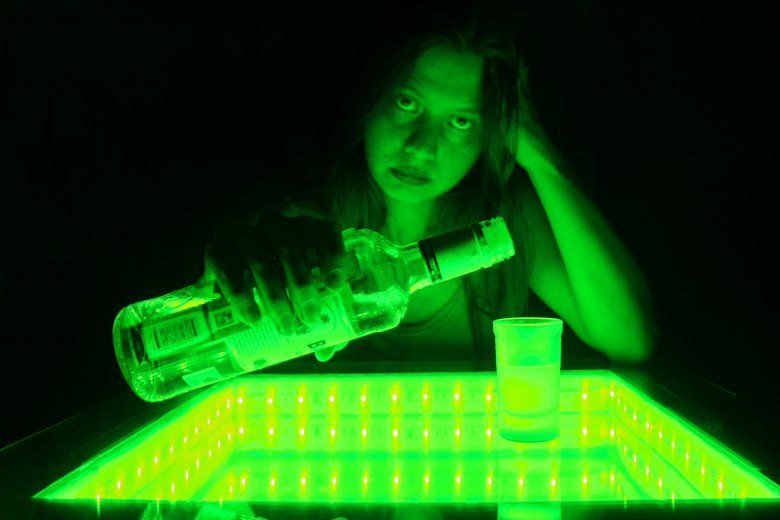 Małgorzata ma 26 lat i jest alkoholiczką, nie pije od roku i trzech miesięcy. Zdjęcie poglądowe.