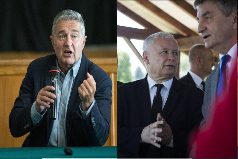 """Władysław Frasyniuk ostro zareagował na słowa Jarosława Kaczyńskiego o """"agenturze obcych państw""""."""
