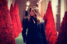 Świąteczne dekoracji Melanii Trump niezbyt przypadły do gustu Amerykanom