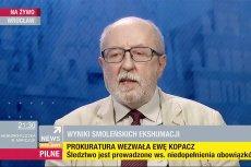 Poseł PiS Jacek Świat do uwiarygodnienie tezy o zamachu na prezydencki Tu-154M użył... Roberta Kubicy.