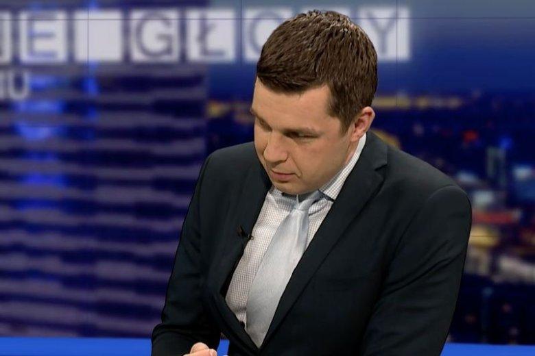 Politycy PO, Nowoczesnej i PSL domagają się zwolnienia dziennikarza Michała Rachonia.