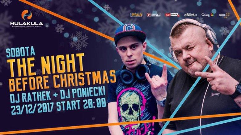 Tego wieczora w sali głównej rządzić będą DJ Rathek i DJ Poniecki.