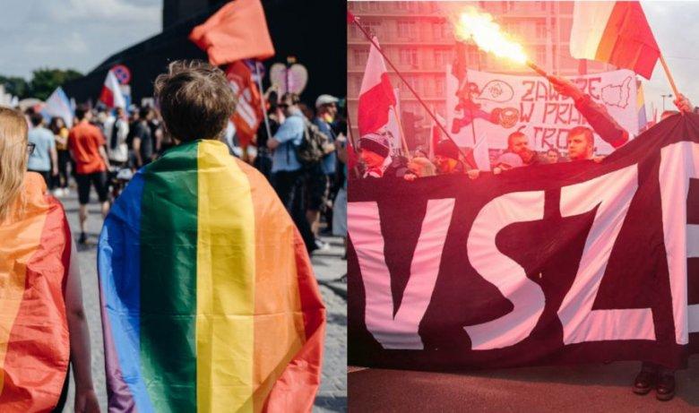 Marsz Niepodległości nie wydaje być dla osób LGBTQ najbezpieczniejszym miejscem. Organizatorzy inicjatywy na Facebooka się jednak nie zrażają
