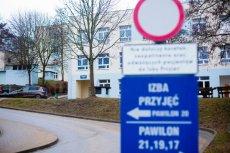 Wojewódzki Szpital Psychiatryczny w Gdański przy ul. Srebrniki.
