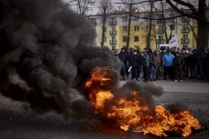 We wtorek 13 grudnia górnicy protestowali pod Spółką Restrukturyzacji Kopalń. A to dopiero początek.