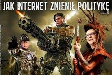 """Okładka  tygodnika """"Polityka"""" porównuje Ewę Kopacz, Pawła Kukiza i Jarosława Kaczyńskiego do postaci z gier komputerów."""