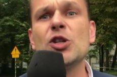 Łukasz Sitek z TVP próbował przepytać prezydenta Sopotu podczas otwarcia Centrum Opieki Geriatrycznej.