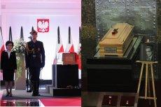 Po pogrzebie Kornela Morawieckiego wiele osób przypomina, jak parę miesięcy wcześniej wyglądało pożegnanie Karola Modzelewskiego.
