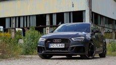 Audi RS3 to prawdopodobnie najbardziej szalony hatchback na rynku. Choć wcale tak nie wygląda.