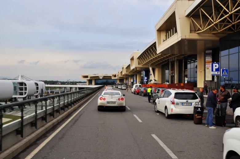 Lotnisko w Mediolanie kończy naszą podróż. Chwilowo. Do następnej