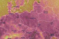Gorące powietrze zaleje właściwie całą Europę.