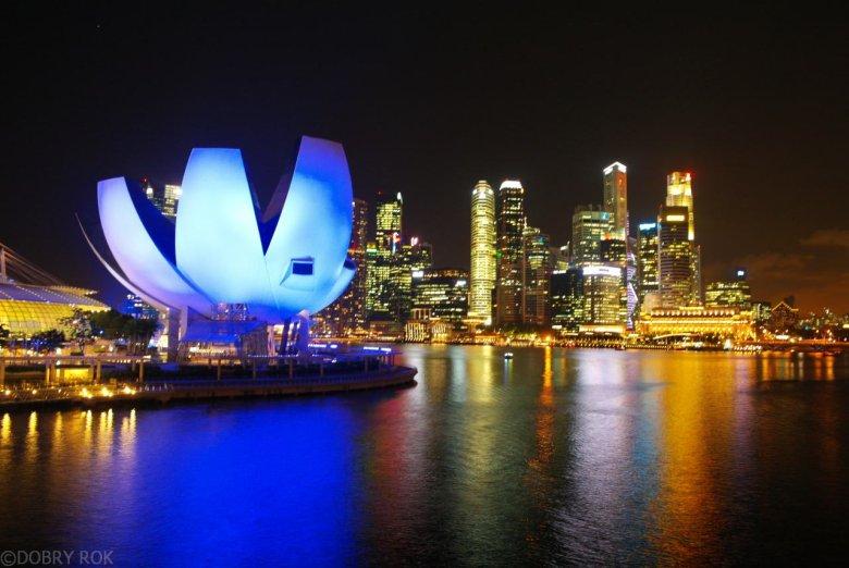 Singapur, piękniejszy nocą czy za dnia?