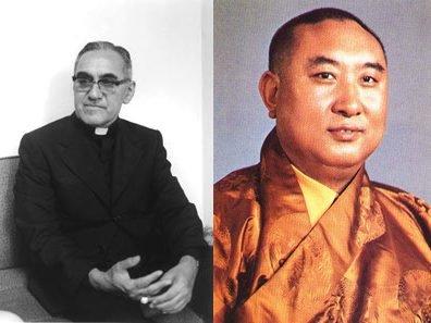 Arcybiskup Oscar Arnulfo Romero (1917 - 1980) i Panczenlama Lobsang Trinlej Czokji Gjalcen (1938 - 1989)