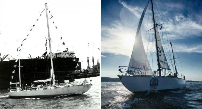 Copernicus w 1973 roku i obecnie