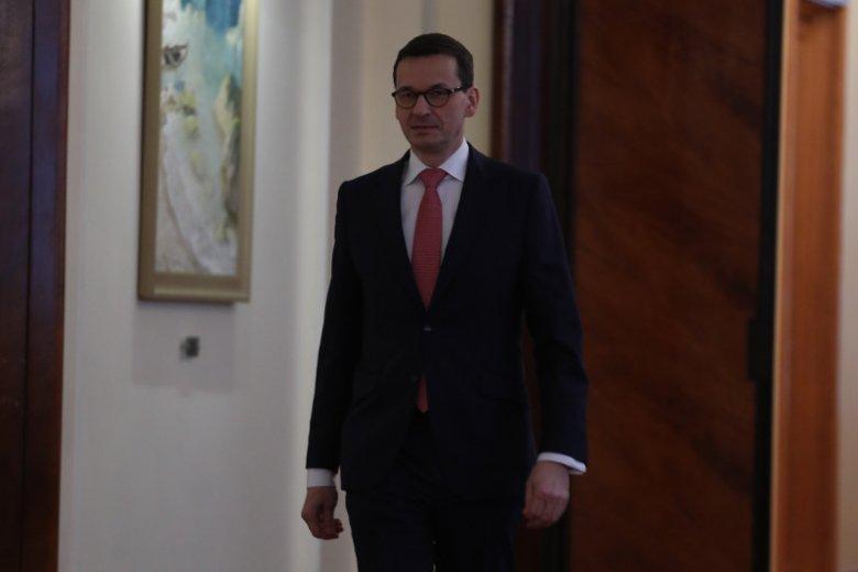 List trafił do premiera Mateusza Morawieckiego.
